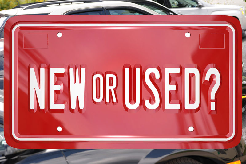 New Vs. Used Cars – Which One Is Your Choice?