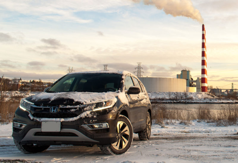 Honda-CR-V-winter
