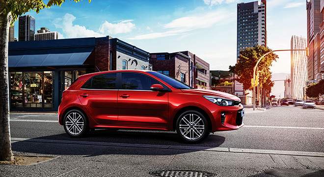 buying a used 2018 KIA Rio Hatchback used car in canada