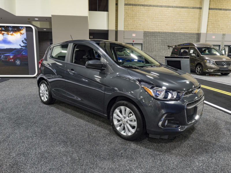 buying a used 2019 chevrolet spark