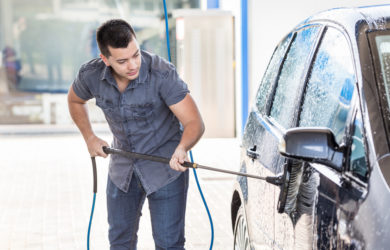 how to clean your car in time for summer