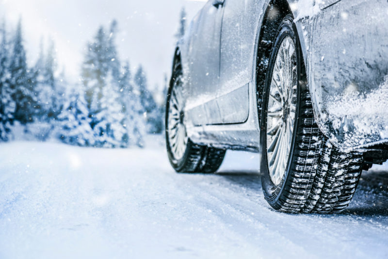 how to trade in a vehicle during winter